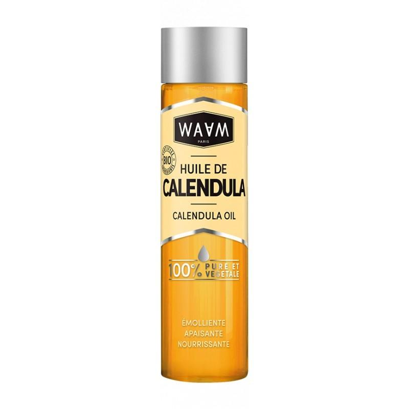 HUILE DE CALENDULA 100ML - Mix Beauty : Expert de la beauté noire et métisse et aussi pour cheveux afro, crépus, frisés, bouclés