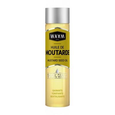 HUILE DE MOUTARDE 100ML - Mix Beauty : Expert de la beauté noire et métisse et aussi pour cheveux afro, crépus, frisés, bouclés