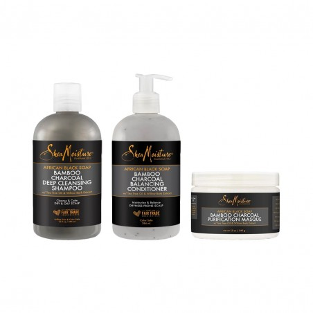 PACK CHEVEUX PURIFIANT   BAMBOO CHARCOAL