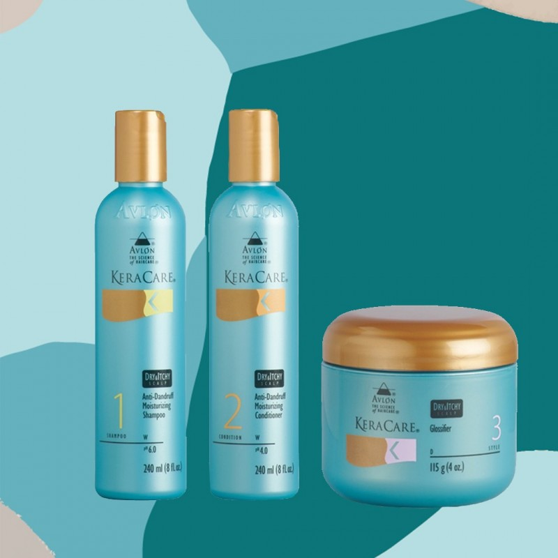 PACK ANTI PELLICULAIRE DRY & ITCHY |KERACARE