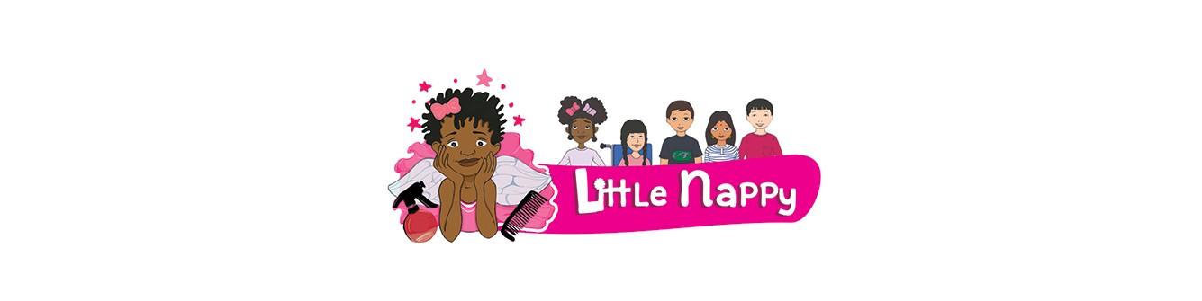 LITTLE NAPPY | LIVRES DES CHEVEUX AFROS & CREPUS