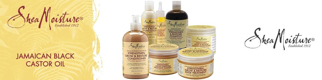 SHEA MOISTURE  Jamaican Black Castor Oil  Mix Beauty Paris