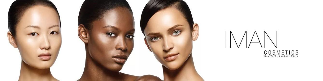 IMAN COSMETICS   Maquillage Des Peaux Mates à Foncés