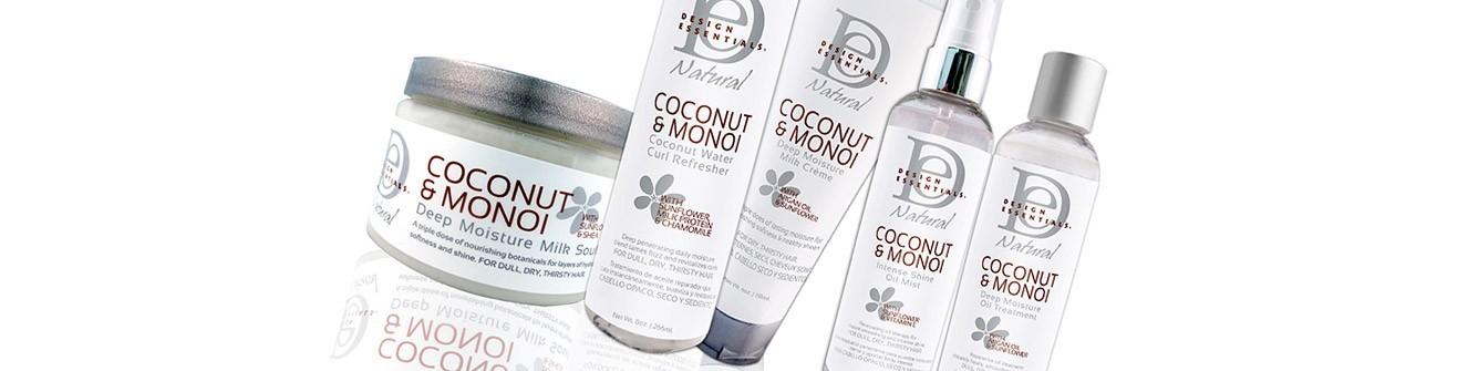 DESIGN ESSENTIAL'S  Coconut & Monoï  Mix Beauty Paris