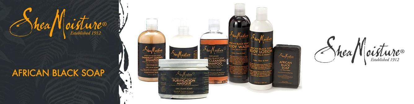 SHEA MOISTURE| African Black Soap| Mix Beauty Paris