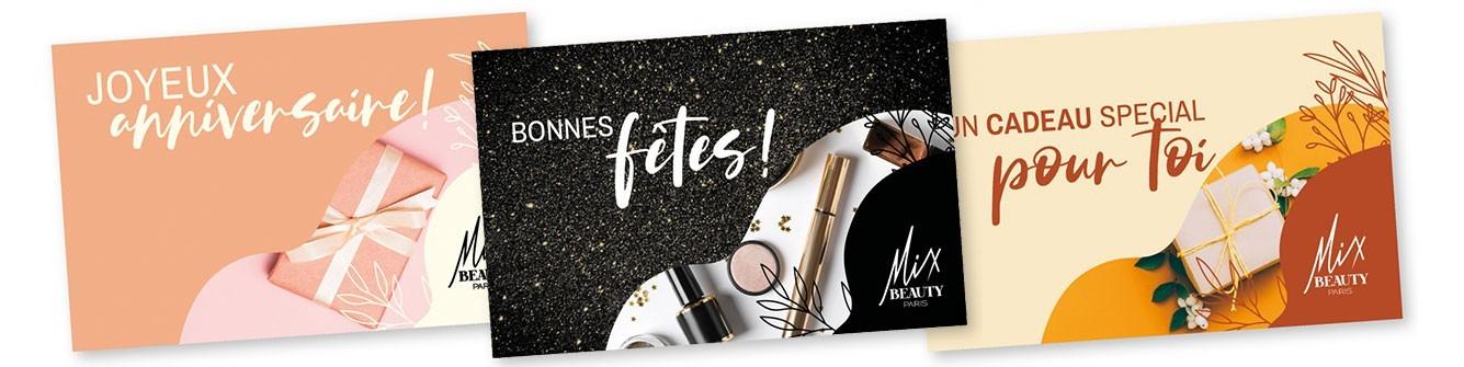 CARTES CADEAUX | Mix Beauty Paris