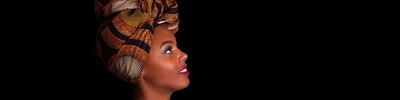ACCESSOIRES   Foulard Wax  Mix Beauty