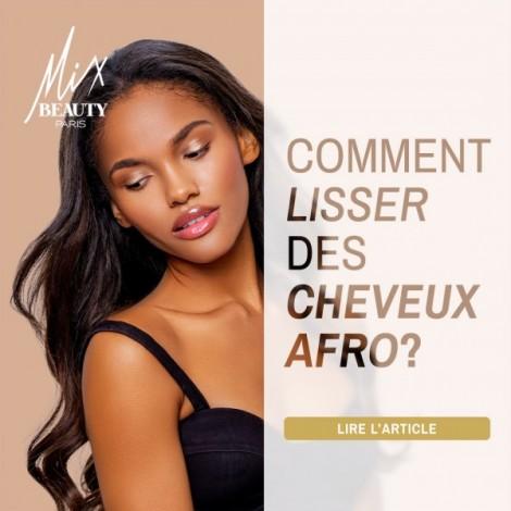 Comment lisser des cheveux afro