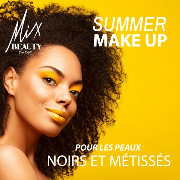 Summer Make up pour les peaux noires et métissées