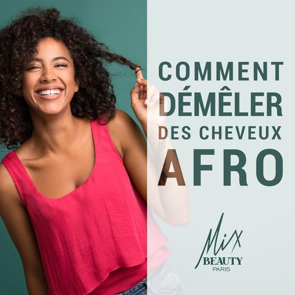 Comment démêler des cheveux Afro ?
