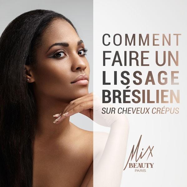 Cheveux Crépus : comment faire un lissage brésilien ?